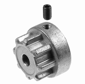 G-Force RC - Koppeling adapter Flex 18 - As Dia. 6mm - 1st