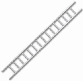 Aeronaut 5740/14  Ladder Trap Grijs 12mm x100mm 1St   Envelop