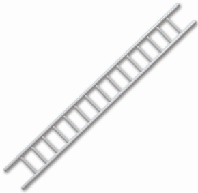 Aeronaut 5740/13  Ladder Trap Grijs 10mm x100mm 1St