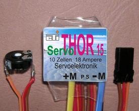 THOR 15 SERVO  motorelektronica voor BIG Servo 18A  Envelop