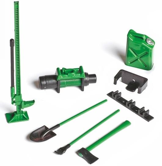 Graupner AZ0005 Offroad-Set (grün) Maßstab 1:10