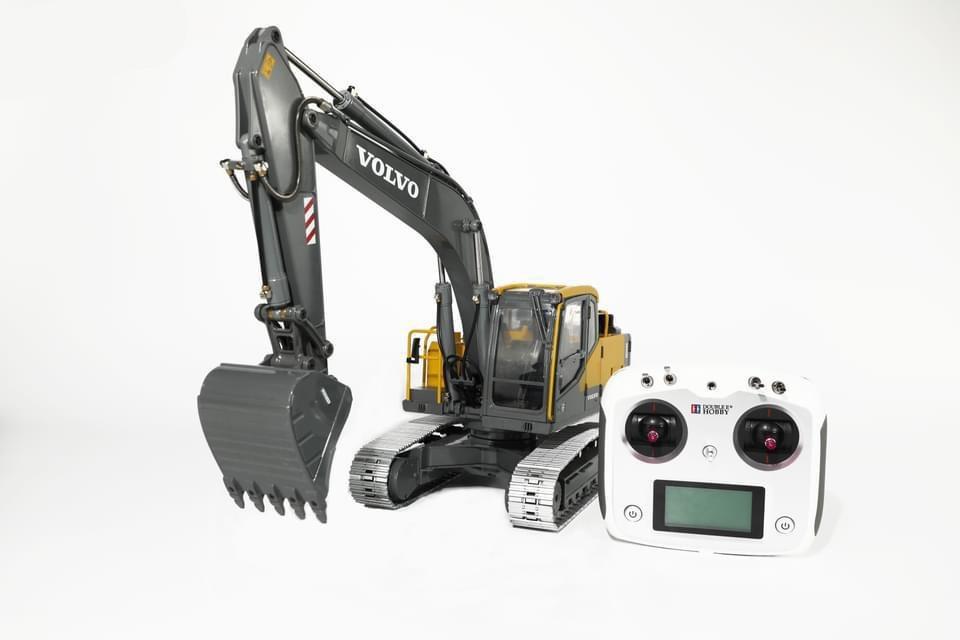 Graafmachine Volvo EC160E 1:14 hydraulic RC excavator 2,4GHz