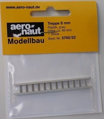 Aeronaut 5740/32 Trap Grijs 7mm x 60mm 1St