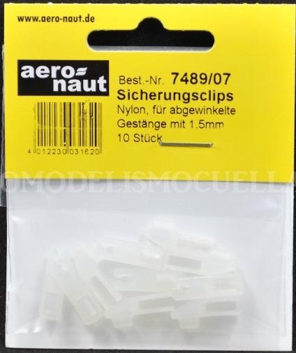 Aeronaut 7489/07 Sicherungclips v stangen 1,5mm 10st
