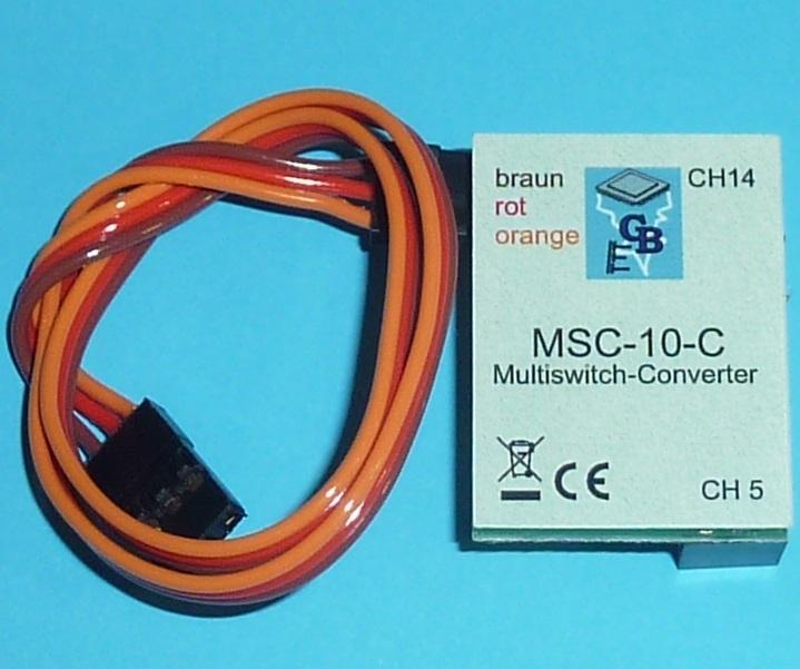 Beier Multiswitch-Converter MSC-10-C, Reflex Stick Multi Pro