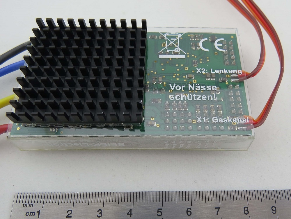 Beier SFR-1 Soundmodule + Rijregelaar + Lichtset in een