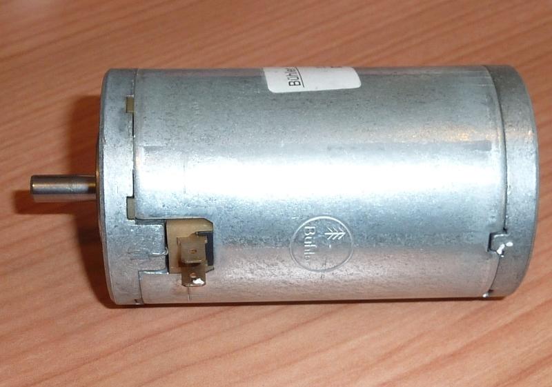 Bühler 12-24 VDC Motor  12V-2000 toeren , ZONV-13