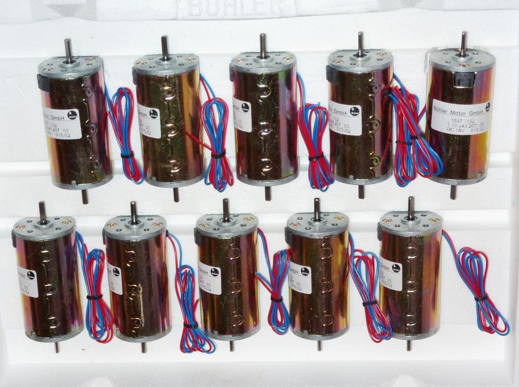 Bühler 6-18 VDC Motor  12V-3030 toeren 1,7A  , ZONV-03