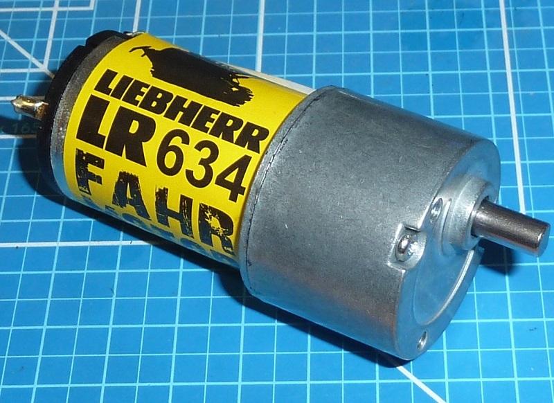 Carson 907106 1/14  LR634 Aandrijving gearmotor 3-9V 105/min