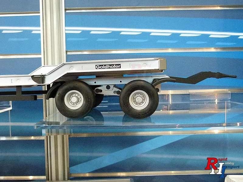 CARSON 907400 1/14 Goldhofer TU-4 Dieplader2+2 aanhanger