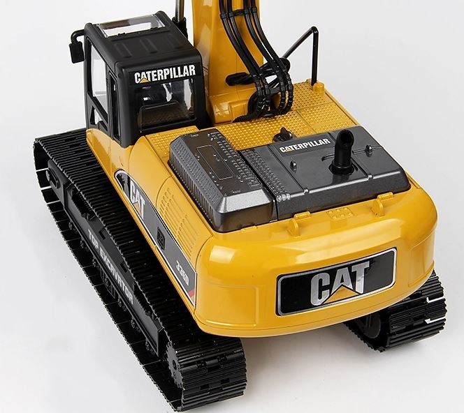 CAT 336D Sticker ALU geborsteld MAT Huina 1580 Excavator