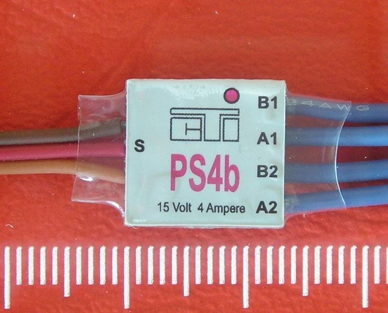 CTI PS4b mini MULTI-SWITCH  4-kanaals -4Amp op 1CH