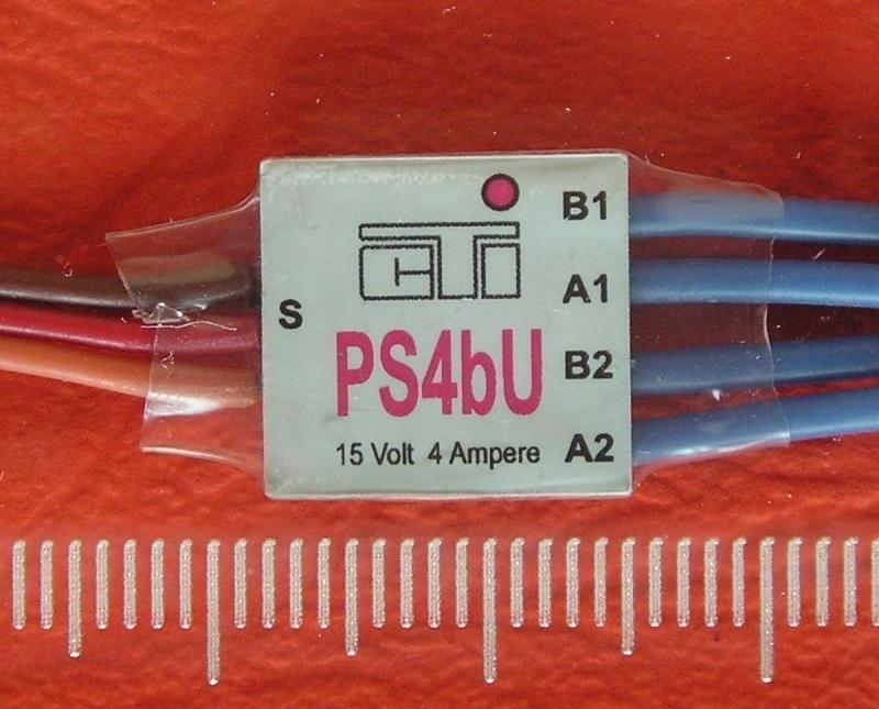 CTI PS4bU mini MULTI-SWITCH  US-look knipperlicht op 1CH