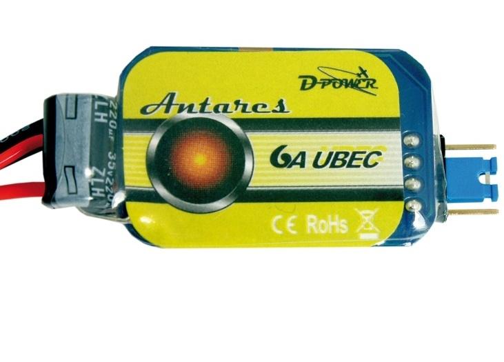 D-Power 9202 Antares 6A UBEC Regler 2-6S 5-6V