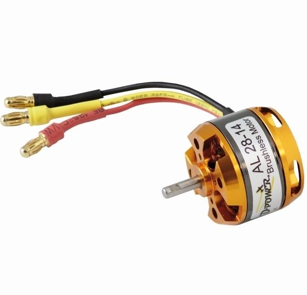D-Power AL 28-14 Brushless Motor 1380KV 2-3S, AL2814