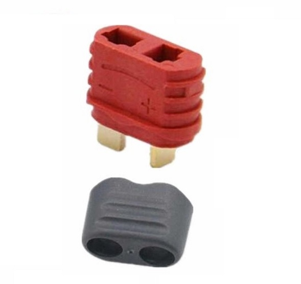 Deans-T FEMALE connector with cap 10 stuks Robbe