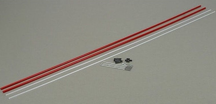 "Dubro 500 Lazerrods Pushrod 36"" 91cm lang"