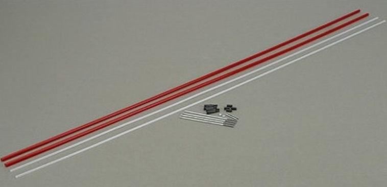 "Dubro 501 Lazerrods Pushrod 48"" 122cm lang"