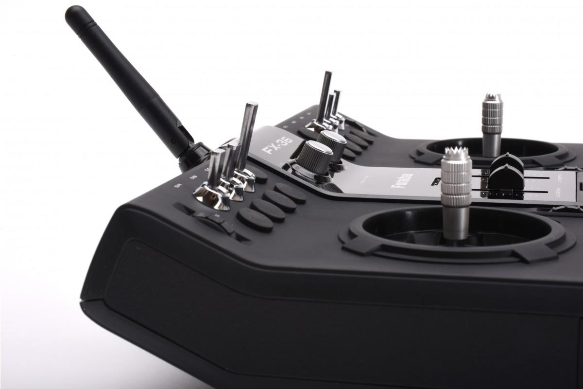 Futaba FX36 Potless + R7008SB 2,4 GHz FASST , P-CBFX36EUPL