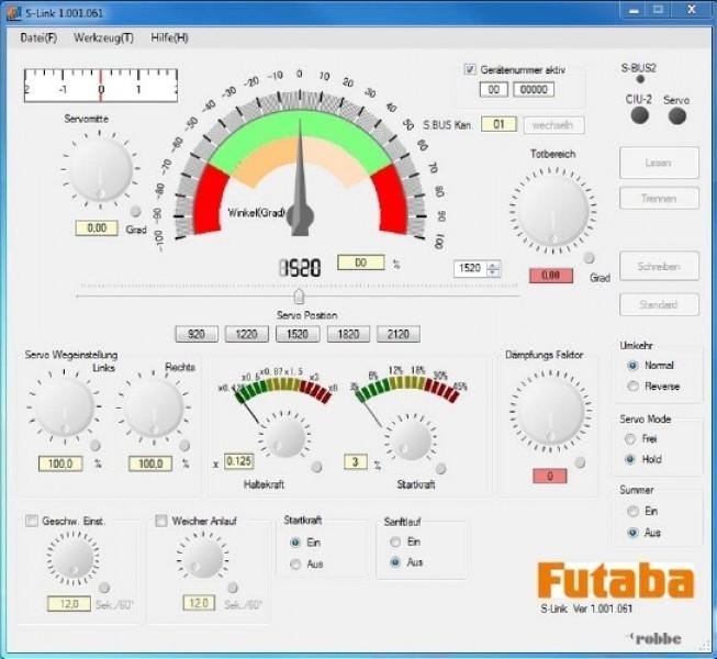 FUTABA Servo-S3071MG-HV-S.BUS, F1725