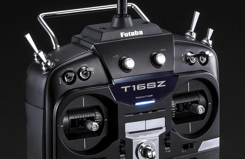 FUTABA T16SZ 2.4GHz + R7008SB M2