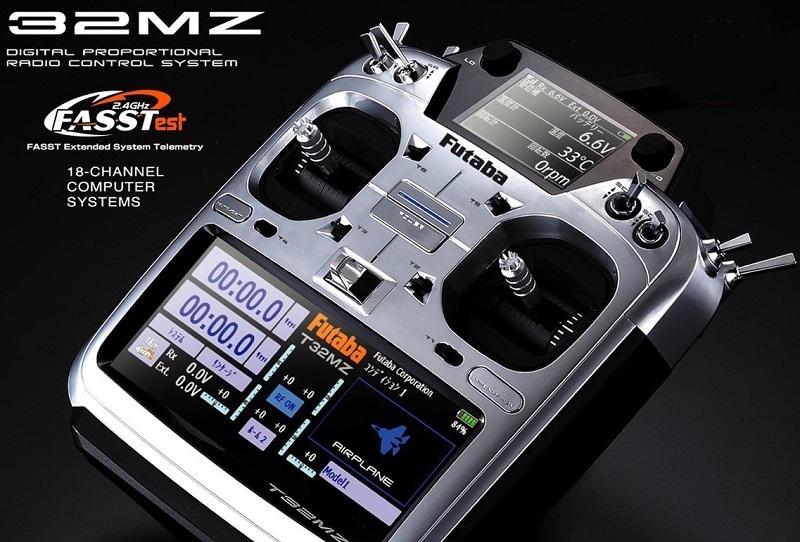 FUTABA T32MZ 2.4GHz + R7014SB High-end, P-CB32MZ-EU