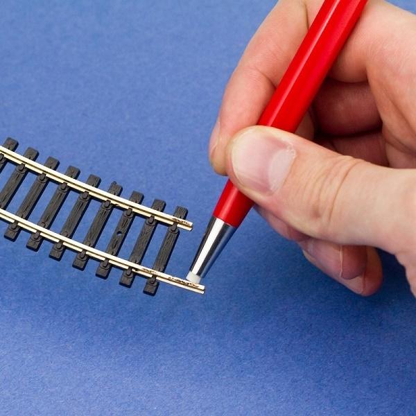 Glasvezelpen 4mm voor reinigen soldeerkontakten PBU1019
