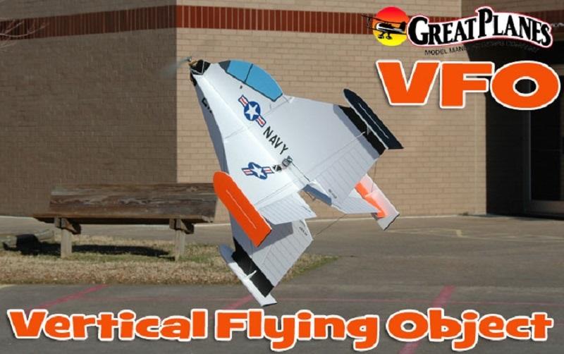 GPMA1135 Great Planes VFO ARF EP Aerobat