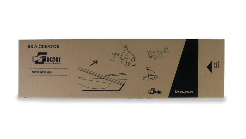 GRAUPNER 13300.1,5 Vector Boards 1,5 mm 1000x300mm VE20