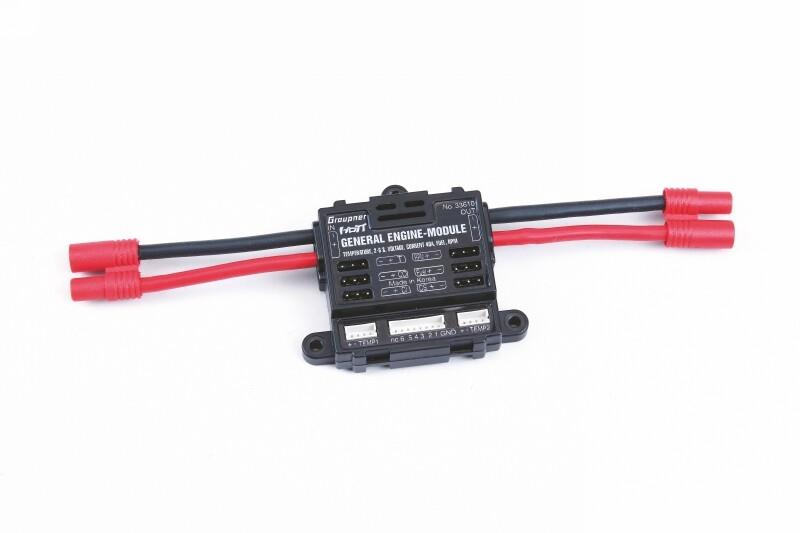 Graupner 33630 Voltage modul balancerkabel EH  2-4S