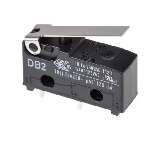 Graupner 3757 microschakelaar 3 polig  met lip 10amp