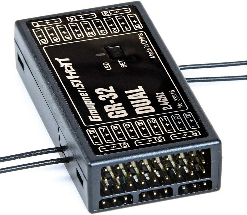 Graupner GR-32 HOTT 16 channel ontvanger nr. 33516