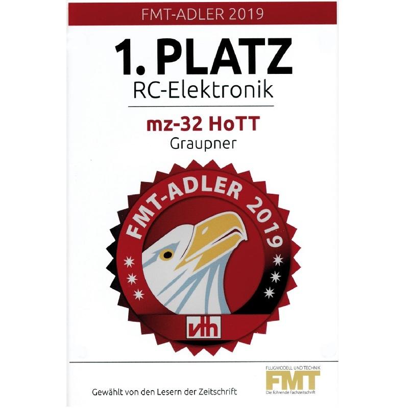 Graupner S1024.77 MZ-32 PRO, 32 Kanal HoTT Alleen zender