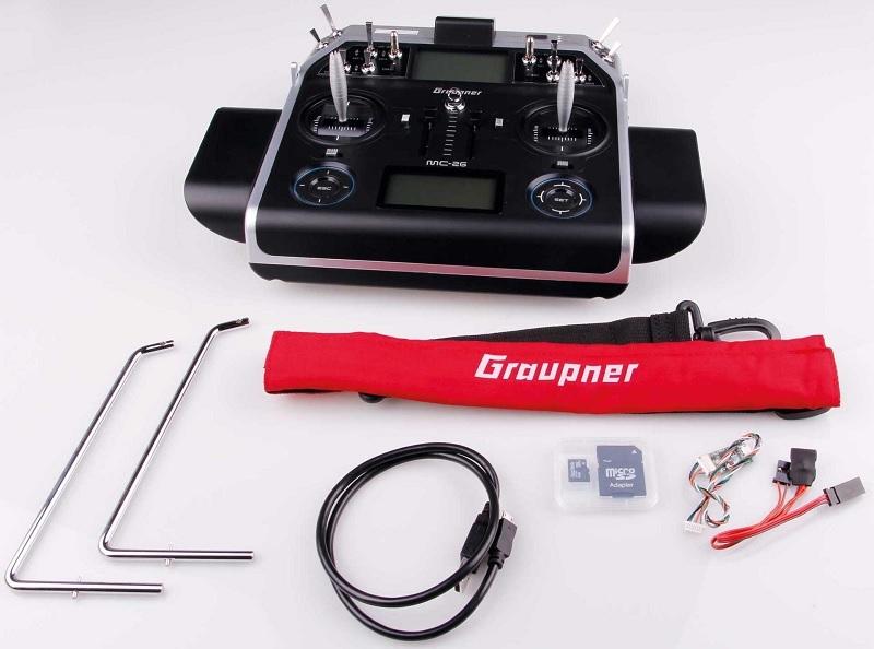 Graupner S1036.77 MC-26 HoTT 16 channel Alleen zender