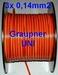 Servokabel vd rol GRAUPNER 3x0,14mm2  PLAT p/m