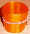 Krimpkous PVC Accupack 2:1 95mm plat rond 60mm ORANGE  0,2M
