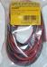 Silicone draad ROOD/ZWART 2,5mm2  4meter nr. 55043 Envelop