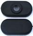 Eindkappen zwart voor 2x A cellen accupack inline  nr.80202 Envelop