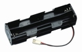 Zender batterijbox F-FC-Serie OUD  8x mignon AA cellen F1340 Envelop