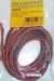 Silicone draad ROOD/ZWART 0,75mm2  4meter nr. 55073 Envelop
