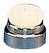 Deklamp, binnenverlichting, Nikkel 12mm met lamp 5 stuks  Envelop