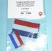 Romarin Nederlandse VLAG gerimpeld watervast 2st ro1368 Envelop
