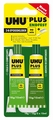 UHU Plus Endfest 300 , 2 comp tube 33gram  45640 Envelop