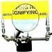 Helpend 3e handje met vergrootglas-loep  nr 29902