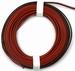 PVC 2 aderig 0,14mm2  Rood/Zwart soepel p/ meter  nr. 51721  Envelop
