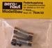 Aandrijf koppeling met veer-as 4/4mm VE2 stuks 7034/22