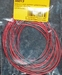 Silicone draad ROOD/ZWART 0,50mm2  4meter nr. 55013 Envelop