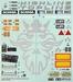 Tamiya Stickers SCANIA, Topline Highline 56318