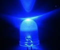 LED 10mm Hyper Bright BLAUW Bleu  3,0-3,4V Envelop