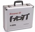Graupner Alu-Senderkoffer HoTT MC serie nr. 33020.1  Pakket
